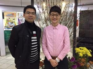 科大醫院內科朱家康醫生(左)